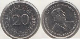 Mauritius 20 Cents 2007 Km#53 - Used - Mauritius