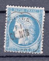 FRANCE  N° 60   CONVOYEUR PUY DE DOME ISSOIRE CL. NIM  C2  / 4496 - Marcophily (detached Stamps)