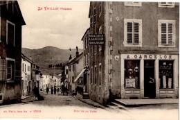 LE THILLOT (88) RUE DE LA GARE. 1916.VOIR COURRIER AU VERSO. - Le Thillot