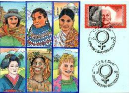 BELGIQUE. N°2360 De 1990 Sur Carte Maximum. Journée Internationale Des Femmes. - 1981-1990