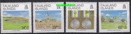 Ascension 1992 Liberation Of The Falkland Islands 4v  ** Mnh (22979) - Ascension