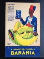 CPA PUBLICITÉ PUB CACAO BANANIA DECOUPAGE LOUIS GOUGEON 1931 CHOCOLAT - Advertising