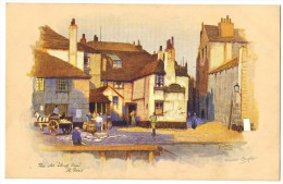 "The Old ""Sloop Inn"", St Ives (Cornwall) By Anne Croft - A Vivian Mansell & Co Ltd C1926 - Illustrators & Photographers"