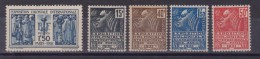 FRANCIA FRANCE 1930 - ESPOSIZIONE COLONIALE SERIE MNH 270/274 CAT. € 145,00 - France