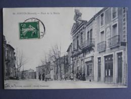 CPA Fontès (34) - Place De La Mairie - France