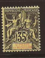 ST PIERRE Et MIQUELON - N° 76 NEUF XX MNH GC - Unused Stamps