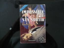 """Collec Le Fantôme N°7 """"impossible De S'en Sortir"""" R.O.Saber"""