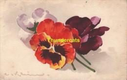 CPA ILLUSTRATEUR CATHARINA KLEIN FLEURS ** JOUNOK 171 ** ARTIST SIGNED FLOWERS CATHERINE KLEIN - Klein, Catharina