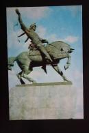 Russia. Ufa. Salavat Monument  - Old Postcard 1970s -    HORSE - Cavalli