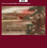 19258 CPA CPM CPSM Carte Postale GIEVRES SOUVENIR - Non Classés