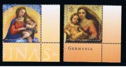 2012 - VATICANO - S11I - SET OF 2 STAMP ** - Unused Stamps