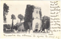 St John In The Wilderness - Postmark 1902 - England