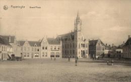BELGIQUE - FLANDRE OCCIDENTALE - POPERINGE - POPERINGHE - Grand'Place.