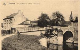 BELGIQUE - FLANDRE OCCIDENTALE - DIXMUDE - DIKSMUIDE - Pont De L'Allée Sur Le Canal D'Handzaeme. - Diksmuide