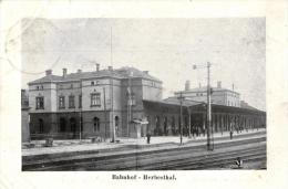 BELGIQUE - LIEGE - LONTZEN - HERBESTHAL - Bahnhof - (Gare). - Lontzen
