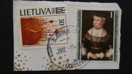 Lithuania - 1991/6 - Mi:468+608 - Used - Look Scan - Lithuania