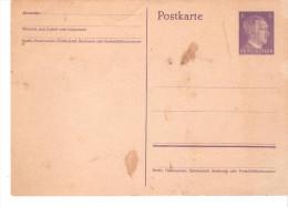 Tarjeta  De Alemania -. - Sin Clasificación