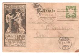 Tarjeta  Postal De Alemania Circulada 1906 - Deutschland