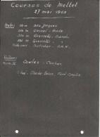 METTET ; Circuit - Courses Du 27/05/1962 - Lot De 11 Superbes Photos - Mettet