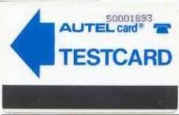 YOUGOSLAVIA :  AUTEL TESTCARD  5000 Dinar (unknown-unlisted ) TEST - Joegoslavië