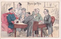 AK Reserve Hat Ruhe -  Humor - Patriotika - 1. WK (16646) - Humor