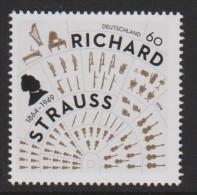 DV 2153) BRD Mi# 3086 **: 150. Geburtstag Von Richard STRAUSS, Komponist, Orchester Orchestra - Musik