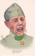 AK Jetzt Han I Gnue! - Künstlerkarte R. Gautschi - Schweizer Armee - Patriotika  (16657) - Humor