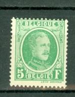 België/Belgique 1922 -  209* Cote € 50,00 (2 Scans) - Belgique