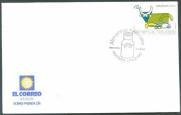 URUGUAY - FEEDING Mi # 2734 FDC VF - Uruguay