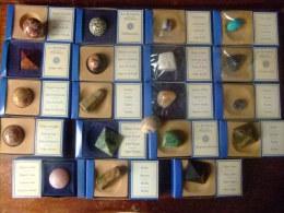 COLECCION DE 20 MINERALES VER BIEN LAS FOTOS - Minerales
