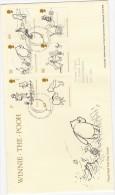 GB 2010 Winnie The Pooh FDC & Hartfield SP PMK DB35A - 2001-10 Ediciones Decimales