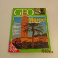 GEO N°166 (12/1992) : MAROC DES VILLES IMPÉRIALES - Géographie
