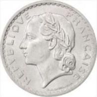 5 Francs 1948 9 Ouvert Lavrillier Alu B - France