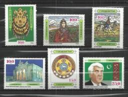TURKMENISTAN 1992 - 6 DIFFERENT -  MNH MINT NEUF NUEVO - Turkménistan