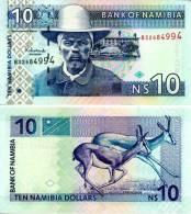 NAMIBIA 10 Namibia Dollars ND(2001) **UNC** - Namibia