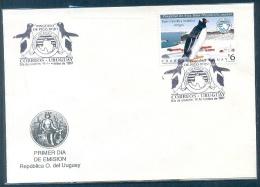 URUGUAY ANTARCTIC 1997 FDC - Uruguay