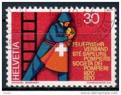 SCHWEIZ 1970 - Feuerwehr, Fire Fighters - Feuerwehr