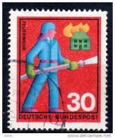 BRD 1970 - Feuerwehr, Fire Fighter - Feuerwehr