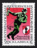 ÖSTERREICH 1985 - Feuerwehr,  Fire Brigade - Feuerwehr