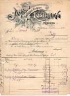 MARBURG-28-12-1907-GEFLUGEL EXPORT - Germania