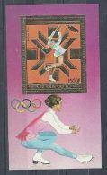 Chad 1983 Winter Olympic Games, Sarajevo. MS. Gold. MNH. VF - Chad (1960-...)