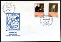 URUGUAY - MUSIC & LITERATURE  FDC 1999  VG - Uruguay