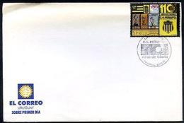 URUGUAY - SOCCER C.A. PEÑAROL FDC 2001 - Uruguay