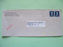 USA 1981 Cover To Belgium - Thomas Paine - Etats-Unis