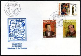 URUGUAY - TANGO & ART FDC 1998 - Uruguay