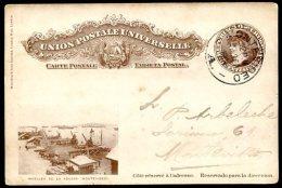 URUGUAY CIARDI TP 48 E Circulated Postal Stationery 1904 VF - Uruguay