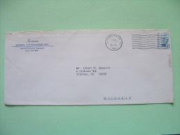 USA 1984 Cover To Trenton - Robert Millikan - Lettres & Documents