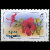 ANGUILLA 1982 - Scott# 478 Flower $7.5 MNH - Anguilla (1968-...)