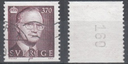D2010 - Sweden Mi.Nr. 1865 O/used, No 160 - Suède