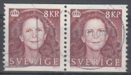 D2016 - Sweden Mi.Nr. 1995 O/used, Pair, No 130 (2 Scans) - Suède